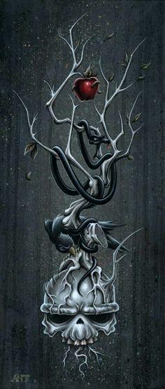 Artist Spotlight: The Grim Dark Artwork of Anthony Clarkson Tattoo Studio, Tattoo Sketch, Smal Tattoo, Creepy, Dark Artwork, Arte Horror, Horror Art, Skull Tattoos, Alien Vs Predator