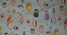 Spotted Owl Upholstery fabric - Alexander Henry Scenic 1 Yard Fabric. $14.00, via Etsy.