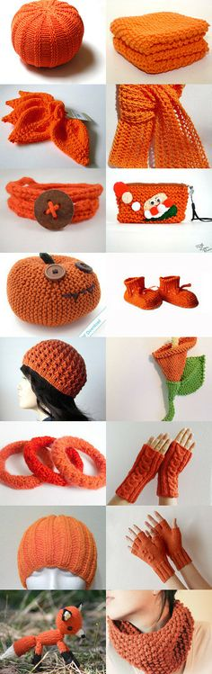 Bright knits by Natasha J on Etsy--Pinned with TreasuryPin.com