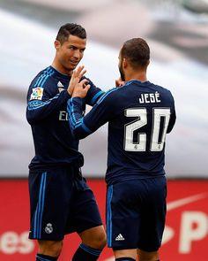 Cristiano Ronaldo y Jesé - Real Madrid