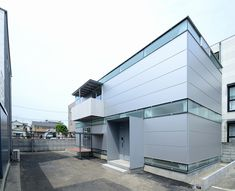 Prefab Steel House - Niji Architects - Tokyo - Exterior - Humble Homes