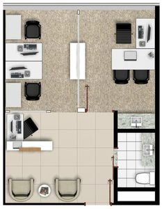office furniture – My WordPress Website Small Office Design, Tiny Office, Small Space Office, Office Interior Design, Office Interiors, Office Layout Plan, Office Floor Plan, Floor Plan Layout, Modern Office Desk