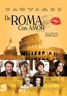 Póster en español de De Roma con amor   Cine PREMIERE