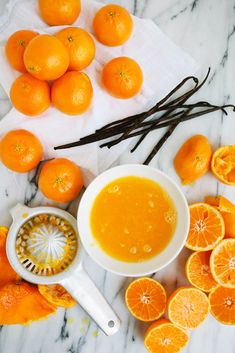 Freshly squeezed citrus for a quick bread recipe