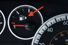 Most cars have an arrow on the fuel gauge that tells you what side of the car the gas tank is on. | 20 Facts That Should Be Common Knowledge But Aren't