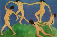 Dance (I) 1910 259 x 390 cm. Museum of Modern Art, New York