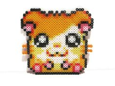 Perler Bead Hamtaro Sprite by TheLixae on Etsy, $10.00