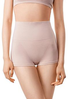 7b360627b MD Womens Shapewear Compression Underwear High Waist Boyshort Panties Rear Body  Shaper XSmall Black at Amazon Women s Clothing store