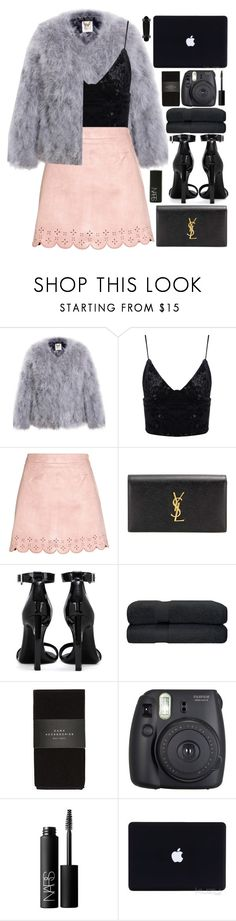 """""""candy kisses🍭 (top set)"""" by charli-oakeby ❤ liked on Polyvore featuring Yves Saint Laurent, NARS Cosmetics, Zara, Fuji, contest, happy, love and featureme"""