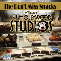 3 snacks you wont want to miss when visiting Disney's Hollywood Studios