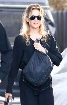 | Renee Zellweger in Black Out in Hollywood Hills