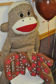 Sock Monkey Birthday Party Ideas | Photo 21 of 34 | Catch My Party