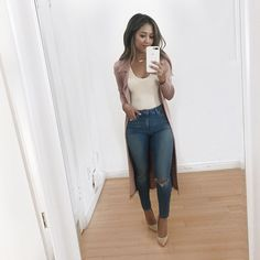 """403 Likes, 37 Comments - Naomi Boyer (@naomiboyer) on Instagram: """"My uniform lately. Link in bio on how to style the #duster"""""""