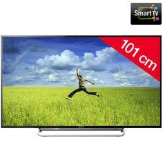 Tv Led pas cher Carrefour promo tv Led, achat SONY BRAVIA KDL-40W605B - Téléviseur LED Smart TV prix promo Carrefour 429.00 € TTC