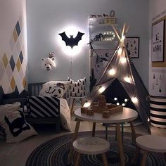 Maseliving Lamp Bat Black ǀ Minideco Co Uk