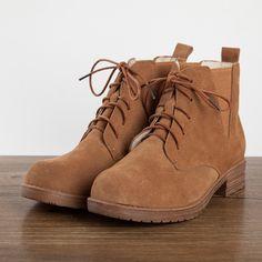 Nuevo 2016 el arte retro mori chica Vintage botas Martin medio tobillo corto cuero genuino botas / mujeres motorcycle boots en Botas de las mujeres de Zapatos en AliExpress.com | Alibaba Group
