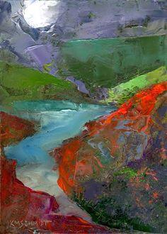 Famous Impressionist Landscape Paintings | ... impressionist landscape paintingmysterious moonlight river art