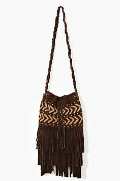 Field Of Dreams Fringe Bag