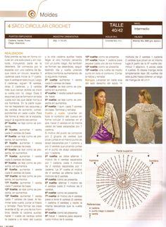 Nube Nº 003 - Melina Tejidos - Picasa Web Albums Crochet Fabric, Love Crochet, Crochet Designs, Crochet Patterns, Crochet Bolero, Entertainment Blogs, Shrug Cardigan, Couture, Crochet Clothes