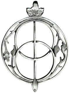 """Chalice Well for Intuition Celtic Pendant Necklace The cover of Glastonbury's Chalice Well in the mystical Isle of Avalon fuses symbols of the three worlds of Celtic mythology, and is a gateway to the Otherworld of enchanted beings. Approximate size: 2""""  http://www.shantispiritualjewelry.com/Chalice-Well-for-Intuition-Celtic-Pendant-p/p378.htm"""