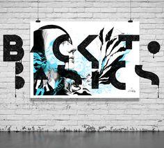 Back to Basics. Poster 100×70 cm, pen 0.3