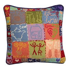 Cushion Designs | Jolly Red