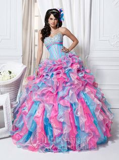 Beautiful Quinceanera Dress from Q Collection.  http://www.houstonquinceanera.com/dresses