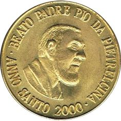 Euro prueba Vaticano 50 céntimos 2000 Padre Pio da Pietrelcina.
