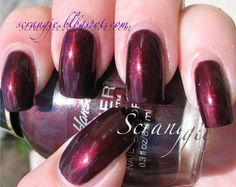 Sally Hansen lacquer shine 07-Shining...slightly lighter Buffy color.