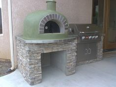 Pizza oven and BBQ combo...                                                                                                                                                                                 More