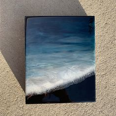 70 Best Ideas For Painting Acrylic Beach Sands Resin Wall Art, Resin Artwork, Seascape Paintings, Oil Painting Abstract, Diy Art Projects Canvas, Ocean At Night, Seashell Painting, Alcohol Ink Art, Pour Painting