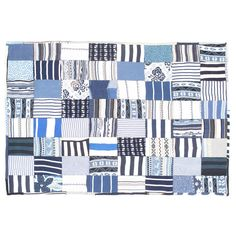 Striped Patchwork Rug