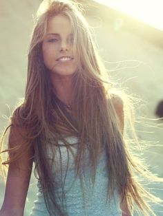 i would murder someone for hair like this. seriously though.