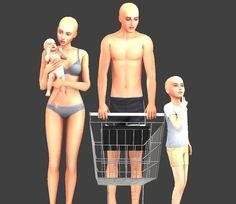 Sims 4 Mac, Sims Cc, Lotes The Sims 4, Sims 4 Couple Poses, Maxis, Sims 4 Piercings, Sims 4 Family, Toddler Poses, Sims 4 Black Hair