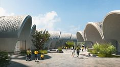 zaha hadid architects plans 'lushan primary school' in china