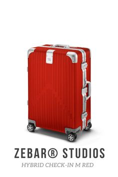 Two of the most advanced materials in the world elegantly combined: The ZEBAR Hybrid Check-in M in RED uses German technology to combine the resistance of our unique aluminum-magnesium alloy with the high quality of the light material polycarbonate, making it the ideal companion for a whole Life while traveling. Highly functional and perfectly suited as checked baggage: the comfortable, medium-sized trolley offers you plenty of storage space for trips of up to 5 days. Air France, Betsey Johnson, Business Trolley, Dynamic Design, Criss Cross, Storage Spaces, Suitcase, Beige