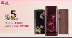 Save more with the best in its league, #LG Direct Cool #Refrigerator! Now with 5 Star ratings and Smart Inverter Technology, it is indeed the 5 star performer of your home. Single Door Fridge, Single Doors, Best Refrigerator Brands, Vegetable Boxes, Postcard Template, Mini Fridge, Energy Consumption