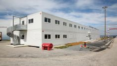 #Location #bureaux temporaires, #construction #modulaire de 400m² par #Legoupil Industrie. http://www.legoupil-industrie.com