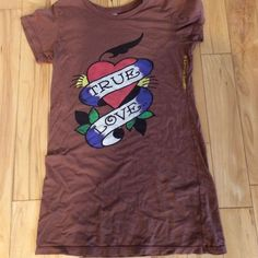 Don•Ed Hardy t-shirt Ok condition •worn a lot •no stains or tears Ed Hardy Tops Tees - Short Sleeve