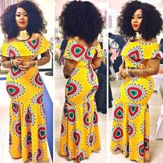 Look at this Classy africa fashion African Bridesmaid Dresses, African Print Dresses, African Fashion Dresses, African Dress, Fashion Outfits, African Outfits, Mens Fashion, Latest Fashion, African Fashion Designers