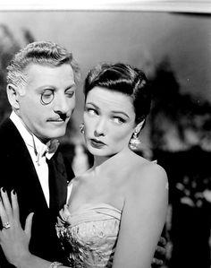 "Gene Tierney & Danny Kaye in ""On the Riviera"""