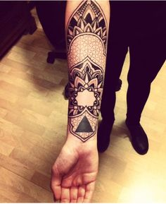 Inner Arm Tattoo