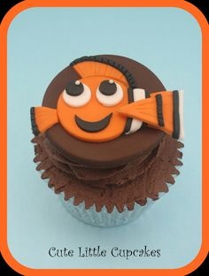 Finding Nemo Cupcake