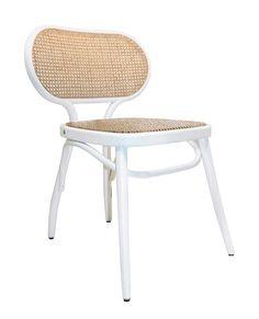 Chaise vintage : 21 modèles esprit rétro Outdoor Chairs, Outdoor Furniture, Outdoor Decor, The Bistro, Chaise Vintage, Bistro Chairs, Dining Room, Contemporary, Design