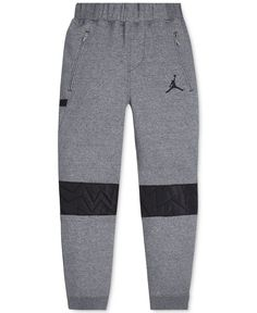 e75999e316de87 Jordan Boys  AJ VII Quilted Fleece Active Jogger Pants   Reviews - Leggings    Pants - Kids - Macy s