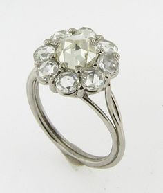 Vintage Rose Cut Diamond Ring