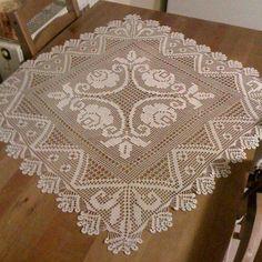 Ideas For Knitting Charts Rose Ganchillo Filet Crochet Charts, Crochet Doily Patterns, Crochet Designs, Crochet Doilies, Knitting Basics, Knitting Charts, Lace Knitting, Knitting Patterns, Lace Runner