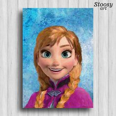 Hey, I found this really awesome Etsy listing at https://www.etsy.com/listing/258545169/frozen-anna-poster-disney-princess-decor