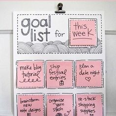 Nice DIY to do for your workspace...keeps you going! #diy #organize #goal #planning #planboard #homeoffice #office #werkplek #workplace #stylish #organizetips  #hartwerck https://www.pinterest.com/sannylinker/hartwerck-dit-is-organizedaanhetwerkjeplek-styling/