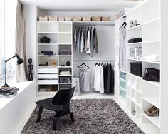 Immagine di white, closet, and style
